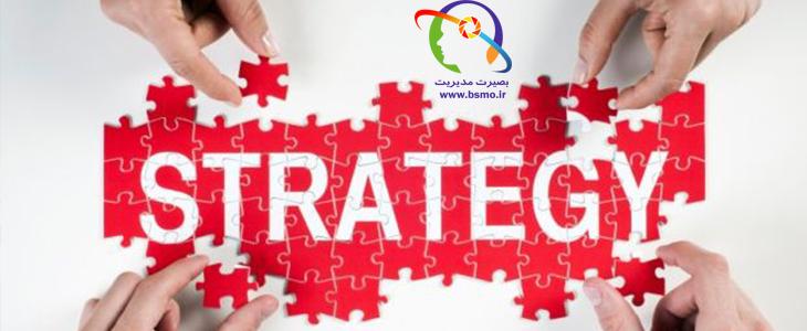 عناصر اساسی مدیریت استراتژیک
